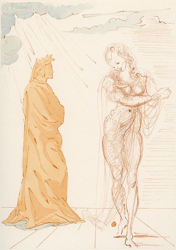 Inferno, Canto II, Il Soccorso