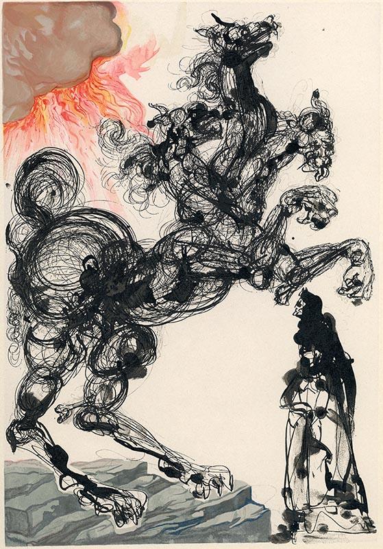 Inferno, Canto VI, Cerbero