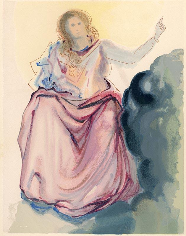 Paradiso, Canto IV, Beatrice risolve i dubbi di Dante