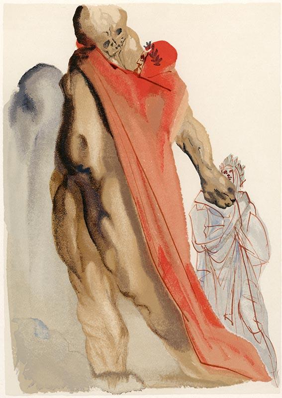 Purgatorio, Canto V, Il rimprovero di Virgilio